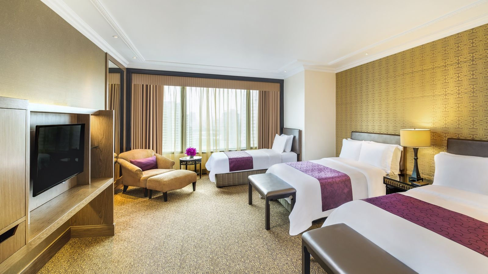 Sheraton grande sukhumvit 5 star hotel bangkok for Room 7 design