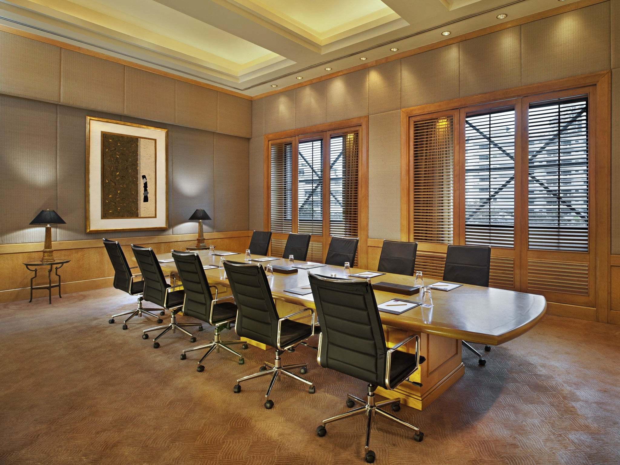 Sheraton Grande Sukhumvit- Business Center- Director Room